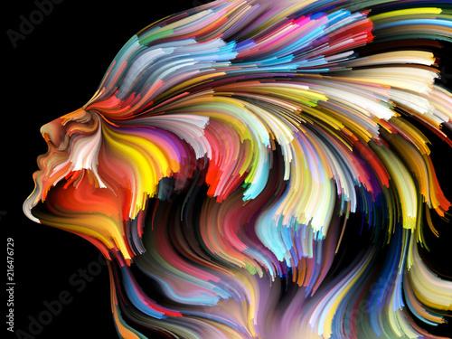Obraz Quickening of Inner Palette - fototapety do salonu