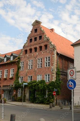 In de dag Noord Europa Hôtel de ville de Lüneburg (Allemagne)