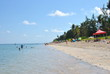 Plage Saline les Bains i reunion Island. Sunny day.