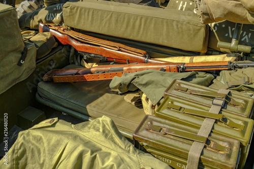 Poster  fusils m1