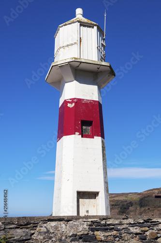 Foto op Aluminium Vuurtoren Lighthouse in Port Erin on the Isle of Man