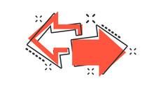 Vector Cartoon Arrow Left And ...