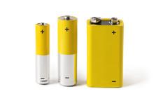 Three Batteries (AAA, AA And P...