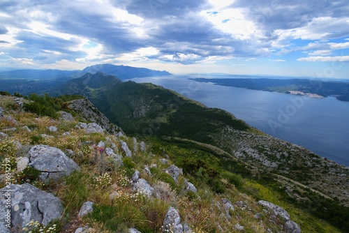 Fotografie, Obraz  View of Velebit