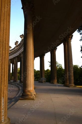 Fotobehang Noord Europa Potsdam : Palais et jardins de Sans Souci (Allemagne)