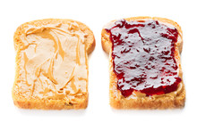 Peanut Butter And Jelly Sandwi...
