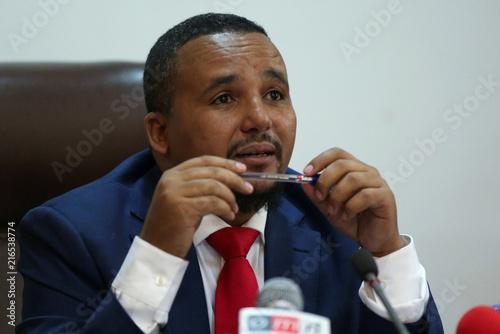 Jawar Mohammed, U S -based Oromo activist and leader of the