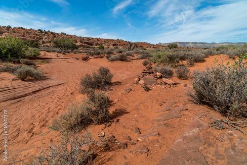 Foto op Canvas Australië Hiking Trail Utah Slot Canyons