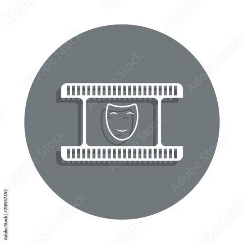 Fotografija  comedy icon in badge style