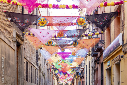 In de dag Madrid Fiestas de la Calle Oso, Madrid