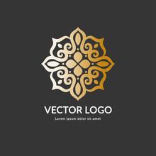 Vector Emblem. Elegant, Classi...