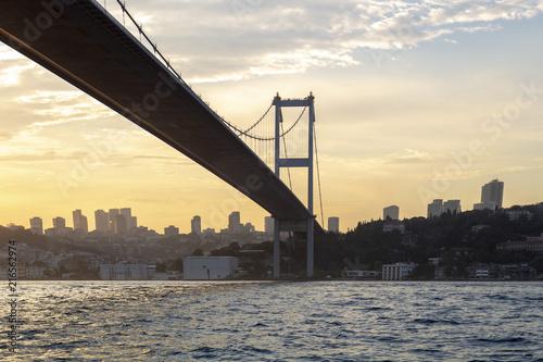 Fotomural Bridge in the bosphorus