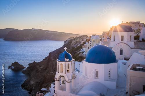 Staande foto Europese Plekken Oia Santorini