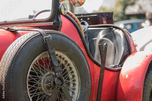 Papiers peints Vintage voitures Oldtimer MG Bild 1