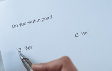 Survey Question: Do You Watch Porn? Answer: Yes.