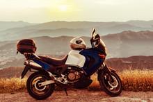 Honda Varadero In Mountain