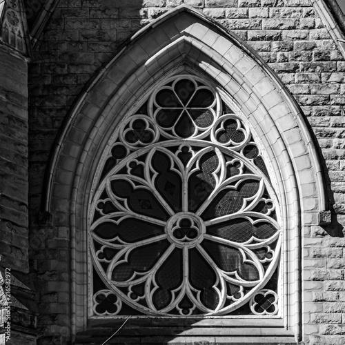 Fotografie, Obraz  Vancouver Catholic Church Rosette