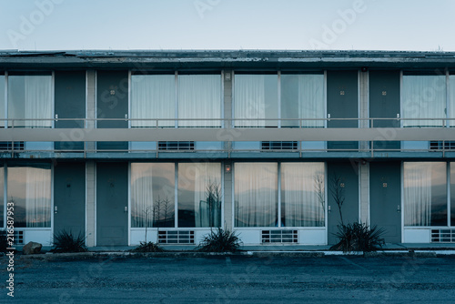 Photo An abandoned motel in Afton, Virginia