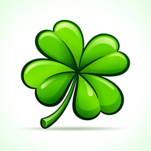 Vector Four Leaf Clover Design