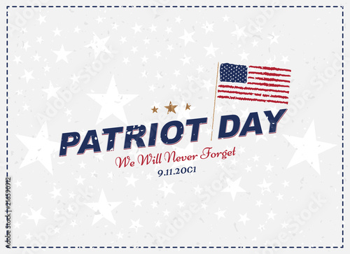 Patriot Day september 11 Poster