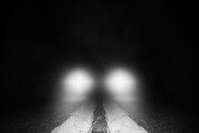 The Lonely Street  At Night Wi...