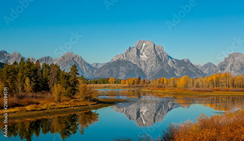 Valokuva Grand Teton reflection