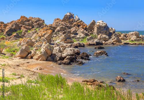Fotografie, Obraz  rocky seaside