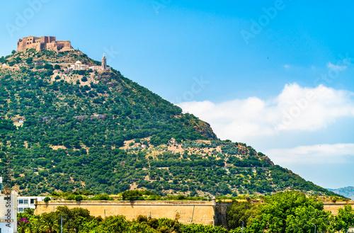 Foto op Plexiglas Historisch geb. View of Fort Santa Cruz in Oran, Algeria