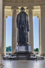 Thomas Jefferson Statue Inside The Thomas Jefferson Memorial