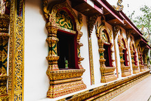 Wat Phuket, Nan Province, Thailand, Most Beautiful Temples In Nan Province.