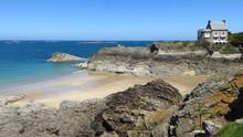 Saint-Malo En Bretagne, Plage ...
