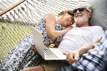 Senior Couple Relaxing In A Ha...