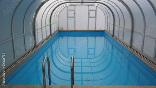 Cuadros en Lienzo Pool Wasser baden