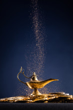 Magic Lamp Of Wishes On Stacks...