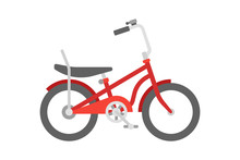 Vector Bicycle In Flat Style I...