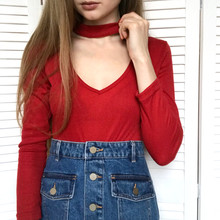 Girl In A Red Sweater On A Whi...
