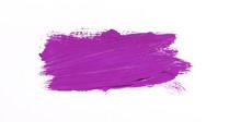 Purple Brush Stroke Isolated Over White Background