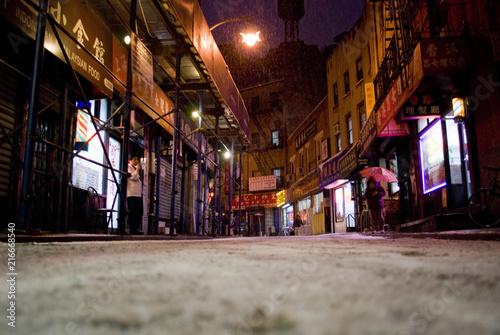 Snowy Chinatown