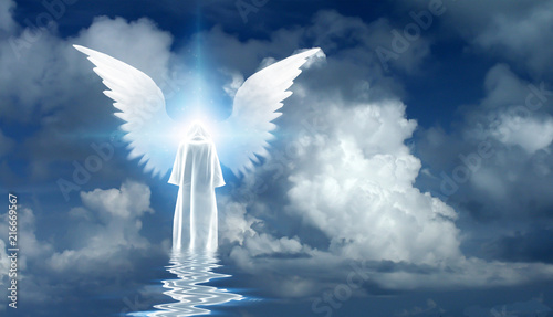 Canvas Print Angel's star