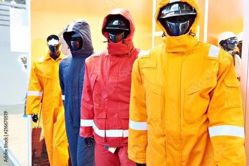 Papel de parede Store uniform industry clothing