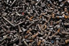 Old Dirty Rusty Screw, Bolt, M...