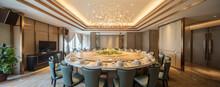Interior Of Chinese Restaurant...