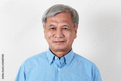 Senior mature grandpa