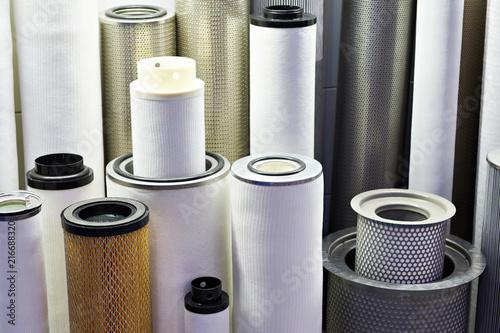 Fotografía  Filter elements for industrial
