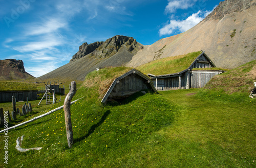 Foto op Plexiglas Historisch geb. Icelandic ancient house
