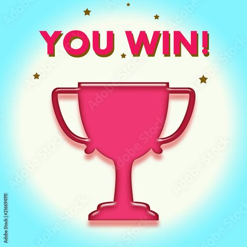 Photo  You win!