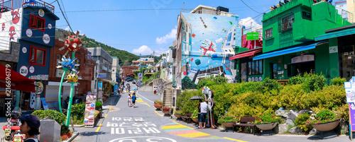 Fotografía  Gamcheon Culture Village scene located in Busan city of South Korea