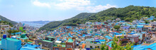 Panorama View Of Gamcheon Culture Village Located In Busan City