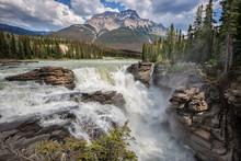 Athabasca Falls, Jasper Nation...