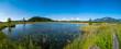 Ein Panoramabild vom Krebssee im Murnauer Moos